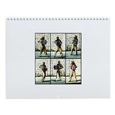 Accordian Man Wall Calendar