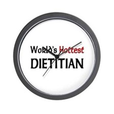 World's Hottest Dietitian Wall Clock