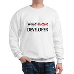 World's Hottest Developer Sweatshirt