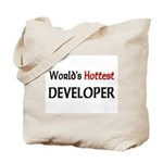 World's Hottest Developer Tote Bag