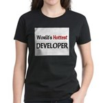 World's Hottest Developer Women's Dark T-Shirt