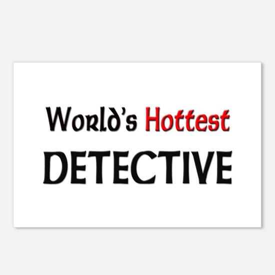 World's Hottest Detective Postcards (Package of 8)