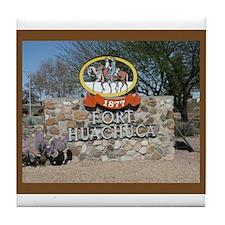Fort Huachuca Tile Coaster
