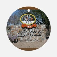 Fort Huachuca Ornament (Round)