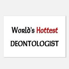 World's Hottest Deontologist Postcards (Package of