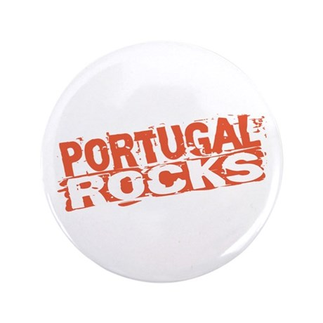 "Portugal Rocks 3.5"" Button"