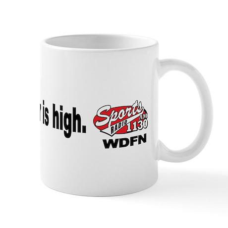 """WDFN """"The Bar is High"""" Mug"""