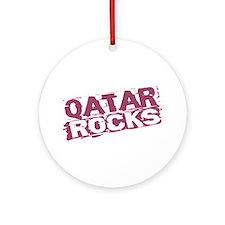 Qatar Rocks Ornament (Round)