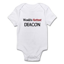 World's Hottest Deacon Infant Bodysuit