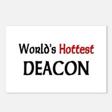 World's Hottest Deacon Postcards (Package of 8)