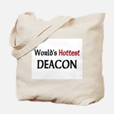 World's Hottest Deacon Tote Bag