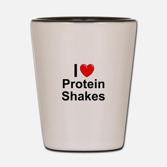 Protein Shakes Shot Glass