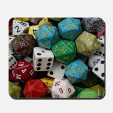 Got Dice? Lotts O' Dice Mousepad
