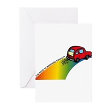 Road to Gay Marriage Greeting Cards (Pk of 10)