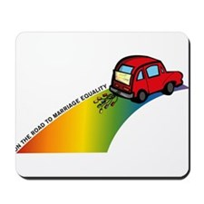 Road to Gay Marriage Mousepad