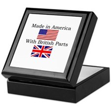 Unique Union jack Keepsake Box