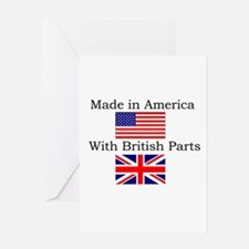 Cute Union jack Greeting Card