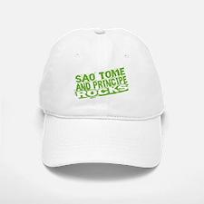 Sao Tome and Principe Rocks Baseball Baseball Cap