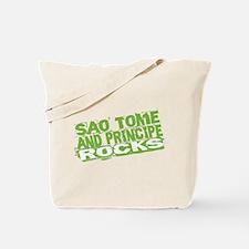 Sao Tome and Principe Rocks Tote Bag