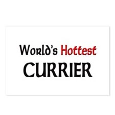 World's Hottest Currier Postcards (Package of 8)