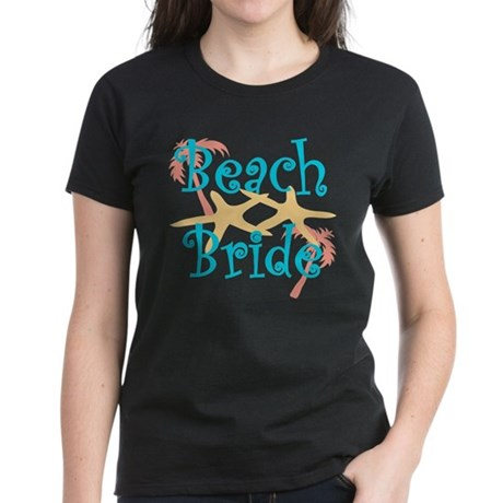 Beach Bride Women's Dark T-Shirt