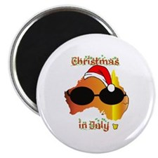 "Christmas in July 2.25"" Magnet (10 pack)"