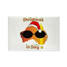 Christmas in July Rectangle Magnet (100 pack)