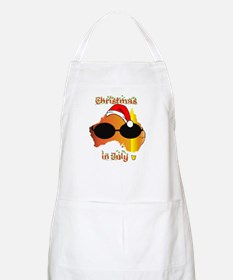Christmas in July BBQ Apron