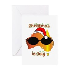 Christmas in July Greeting Card