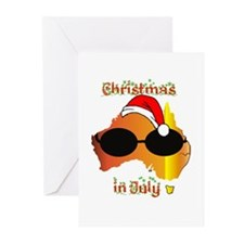 Christmas in July Greeting Cards (Pk of 10)
