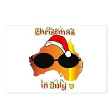 Christmas in July Postcards (Package of 8)