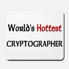 World's Hottest Cryptographer Mousepad