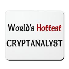 World's Hottest Cryptanalyst Mousepad
