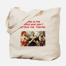 theater gifts t-shirts Tote Bag