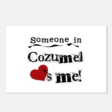 Someone in Cozumel Postcards (Package of 8)