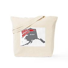 Drill Alaska Tote Bag