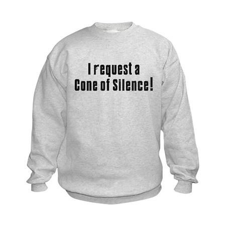 Cone of Silence Get Smart Kids Sweatshirt