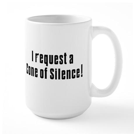 Cone of Silence Get Smart Large Mug