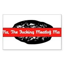 Meatloaf Rectangle Decal