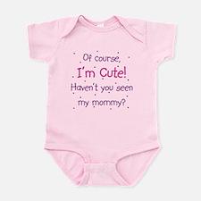 Cute Like Mommy Onesie