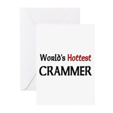 World's Hottest Crammer Greeting Cards (Pk of 10)