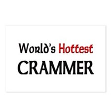 World's Hottest Crammer Postcards (Package of 8)