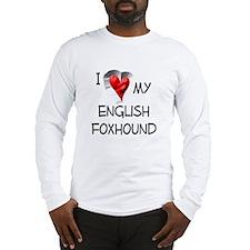 English Foxhound Long Sleeve T-Shirt