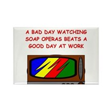 soap opera Rectangle Magnet (10 pack)