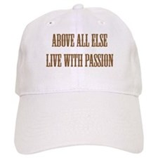 Live with Passion Baseball Cap