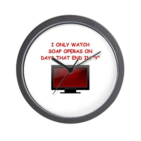 soap opera Wall Clock