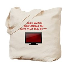 soap opera Tote Bag