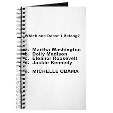 Michelle Obama Doesn't Belong Journal