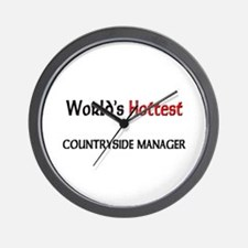 World's Hottest Countryside Manager Wall Clock
