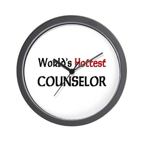 World's Hottest Counselor Wall Clock